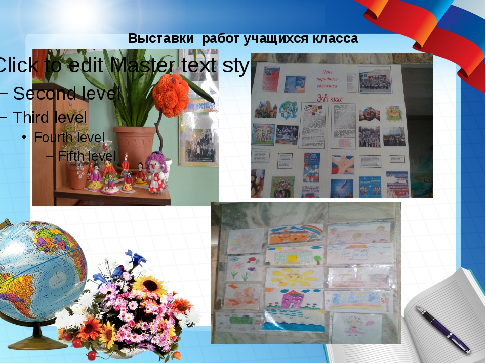 Выставки работ учащихся класса