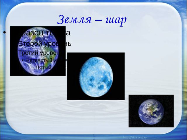 Земля – шар