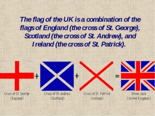 The British flag UNION JACK