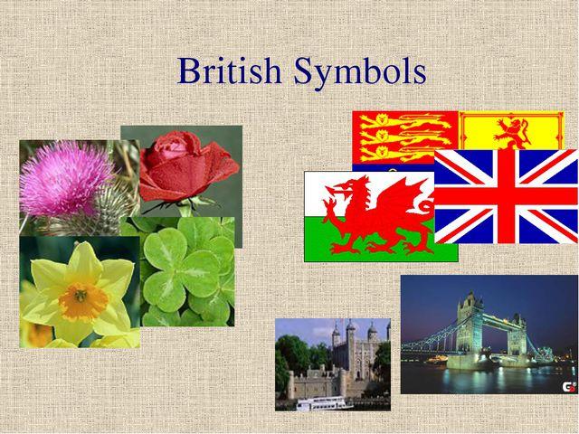 British Symbols