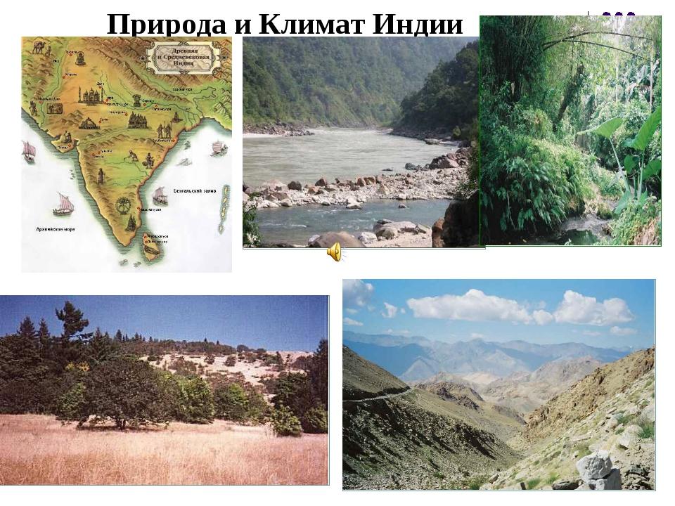 Природа и Климат Индии