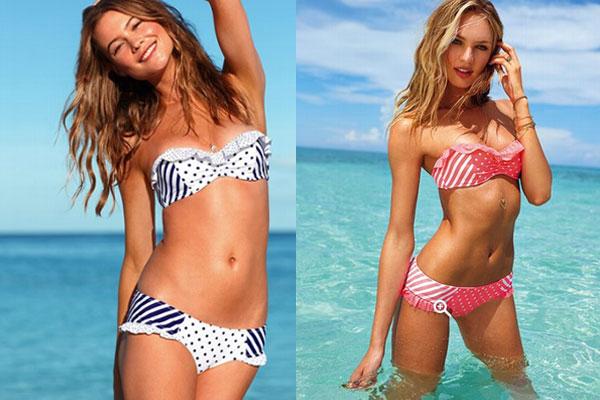 Модные купальники лето 2013 в стиле ретро