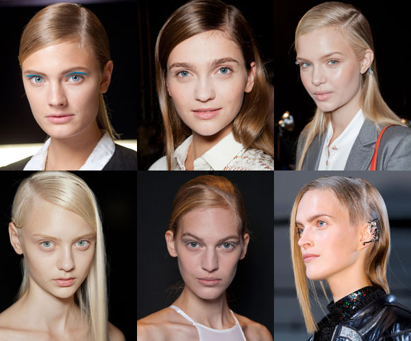 Модные прически 2013: Гладкие волосы