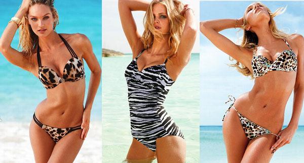 Модные купальники лето 2013 - звериная расцветка