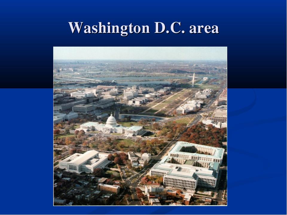 Washington D.C. area