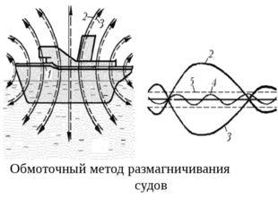 Обмоточный метод размагничивания судов