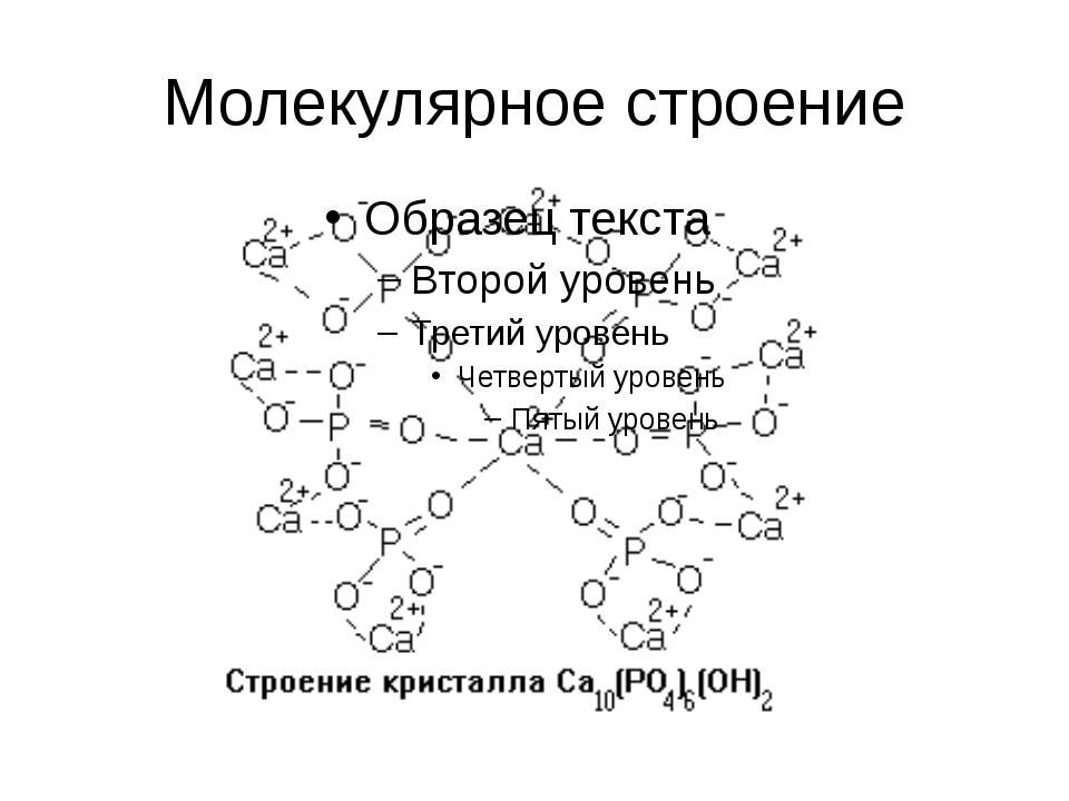 Молекулярное строение