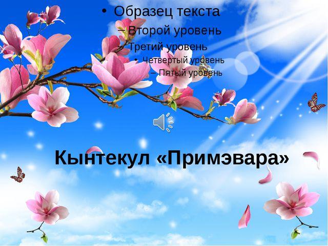 Кынтекул «Примэвара»