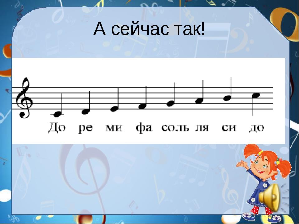 Картинка нотная азбука для детей