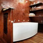 Венецианская штукатурка ванная