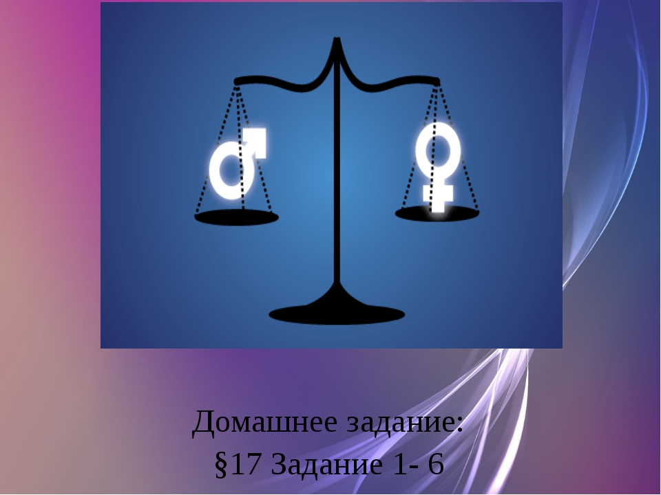 Домашнее задание: §17 Задание 1- 6
