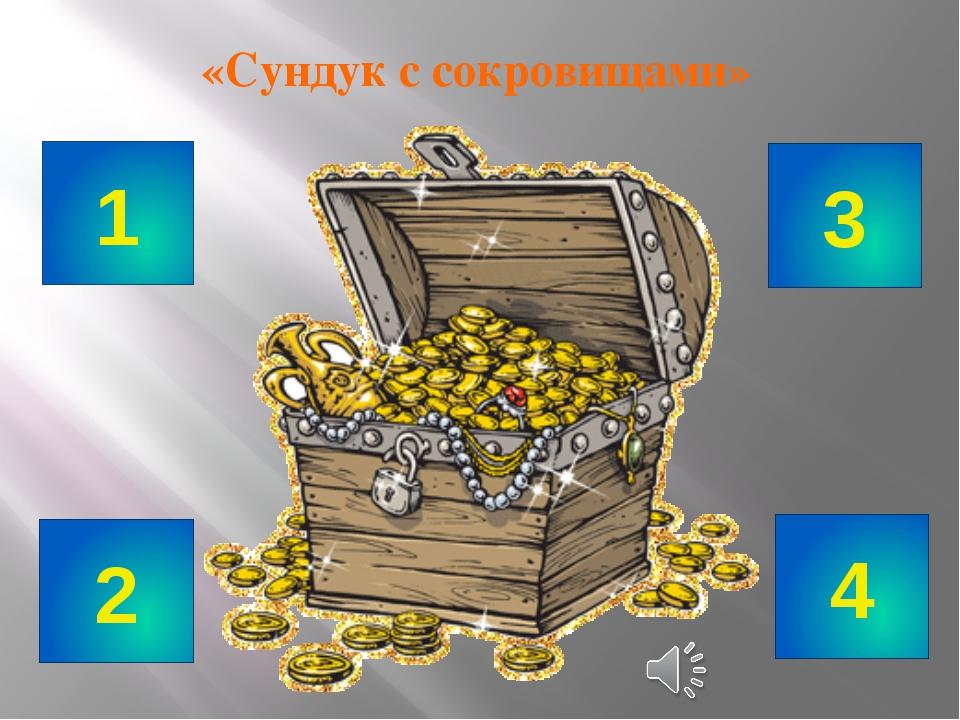«Сундук с сокровищами» 1 2 3 4