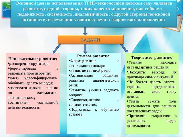 Познавательное развитие: расширение кругозора: формулировать и разрешать прот...