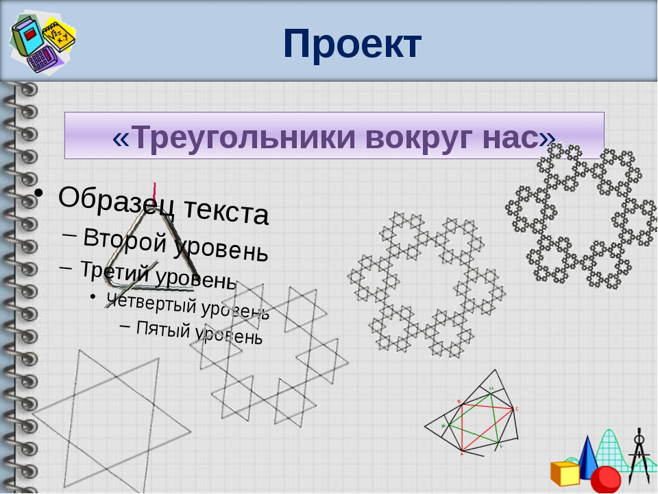 Проект «Треугольники вокруг нас»