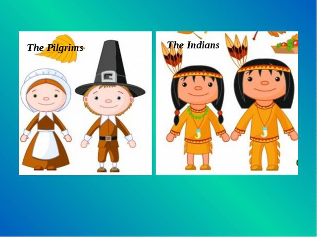 The Pilgrims The Indians