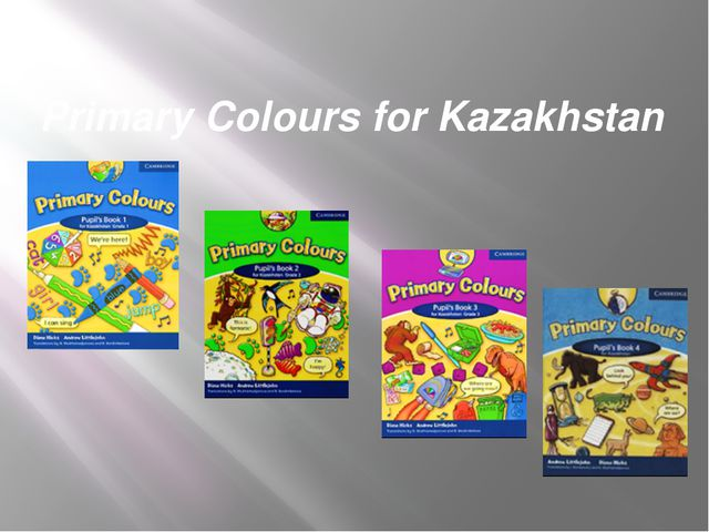 Primary Colours for Kazakhstan