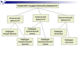 Пермский государственный университет Физический факультет Химический факульте