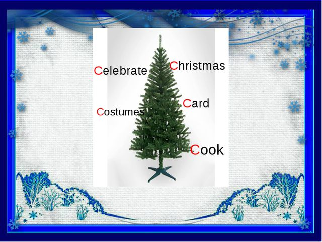 Christmas Card Cook Celebrate Costumes