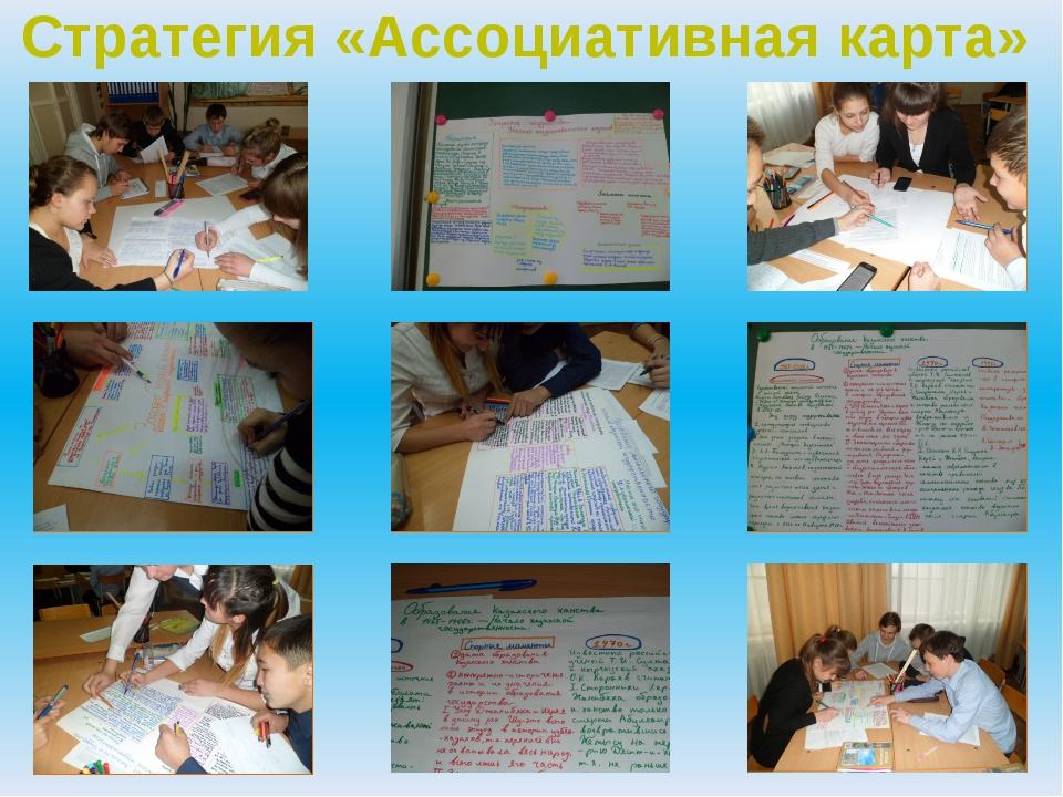 Стратегия «Ассоциативная карта»