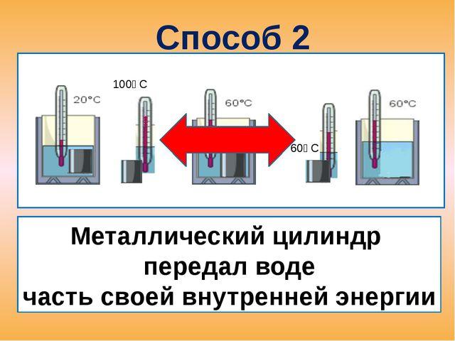 Процесс изменения внутренней энергии без совершения работы над телом или сам...
