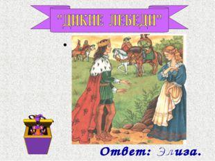 Как звали молодую принцессу, которую посчитали ведьмой и хотели публично сжеч