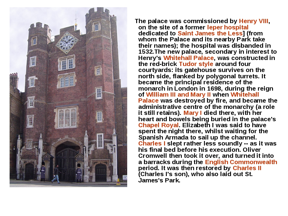 The palace was commissioned by Henry VIII, on the site of a former leper hos...