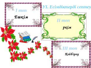 А.с. Ешкім І.с. Ешкімнің Б.с. Ешкімге Т.с. Ешкімді Ж.с. Ешкімде Ш.с. Ешкімне