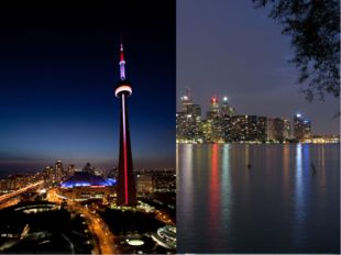 The CN Tower Built on the former Railway Lands, it was completed in 1976, be