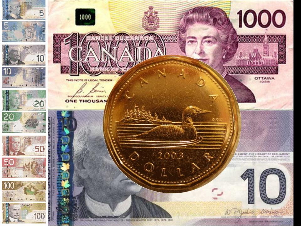 """Currencies of Canada"""