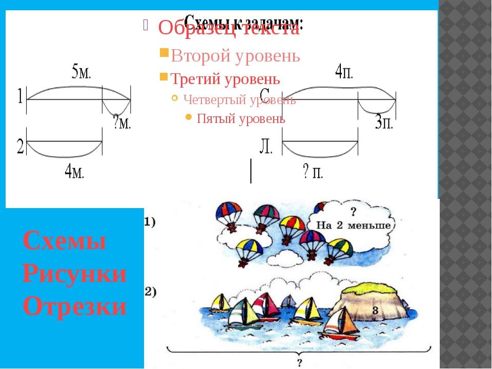 Схемы Рисунки Отрезки