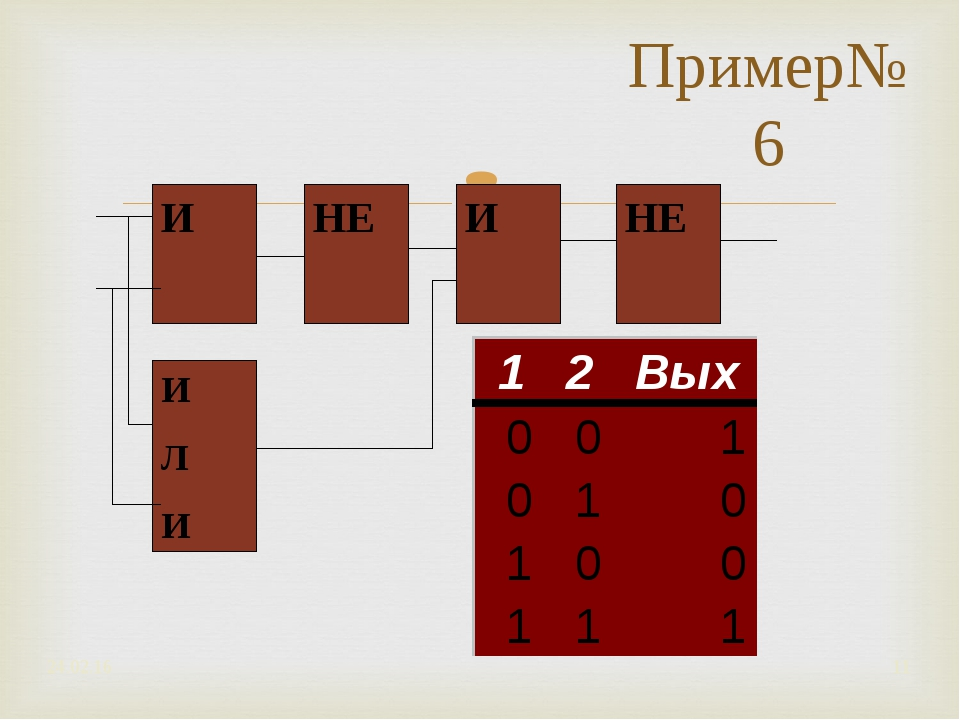 Пример№6 * *
