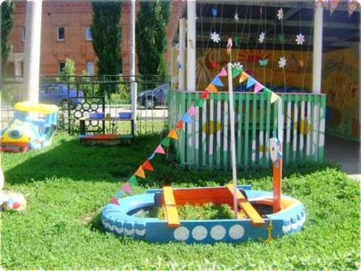 Проект участка в детском саду своими руками