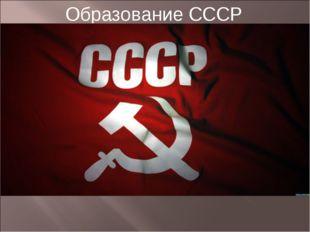 Образование СССР