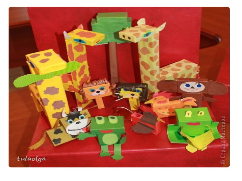 Поделки из спичечных коробков для детей 8 лет 31