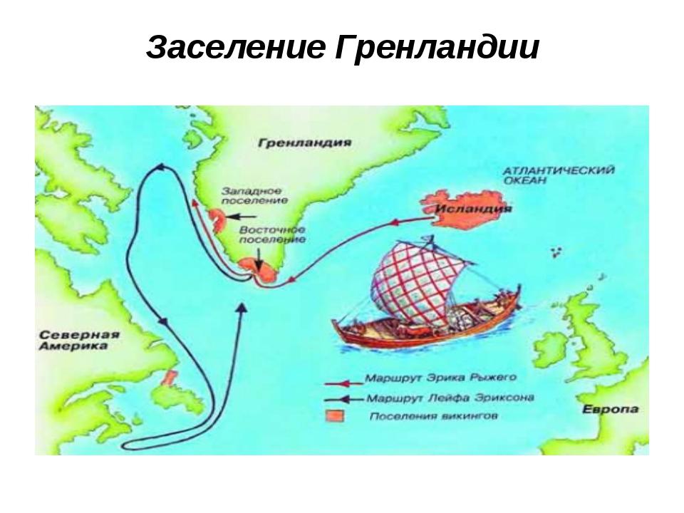 Заселение Гренландии