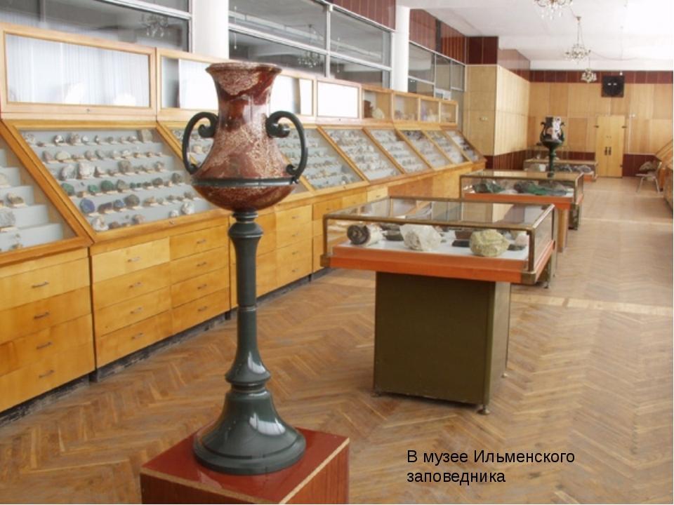 В музее Ильменского заповедника