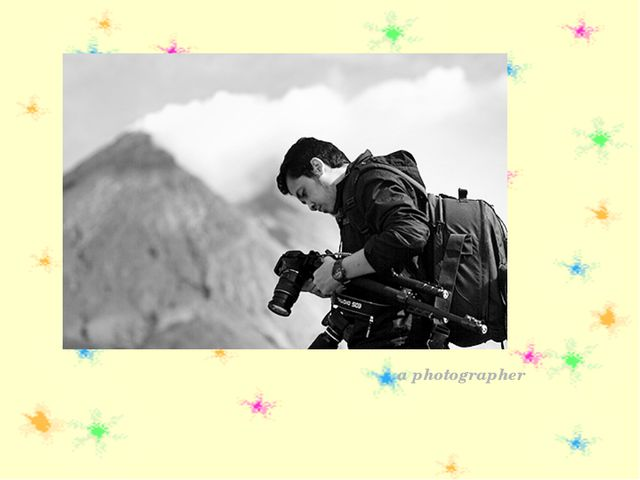 a photographer