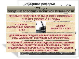 Военная реформа ПЕРЕВООРУЖЕНИЕ АРМИИ И ФЛОТА