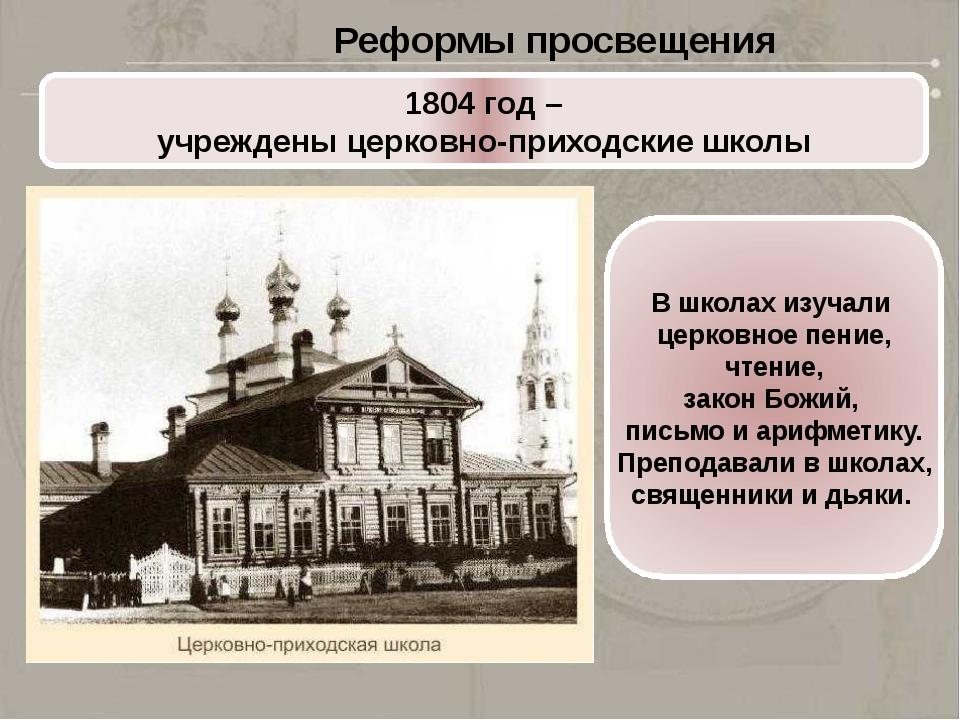 Реформы Николая I (1825-1855)