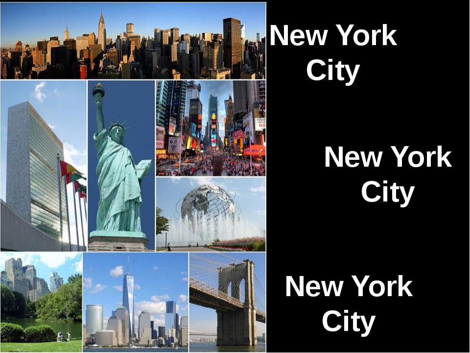 New York City New York City New York City