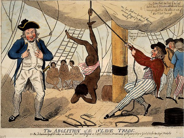 Английское рабовладение по-прежнему процветает