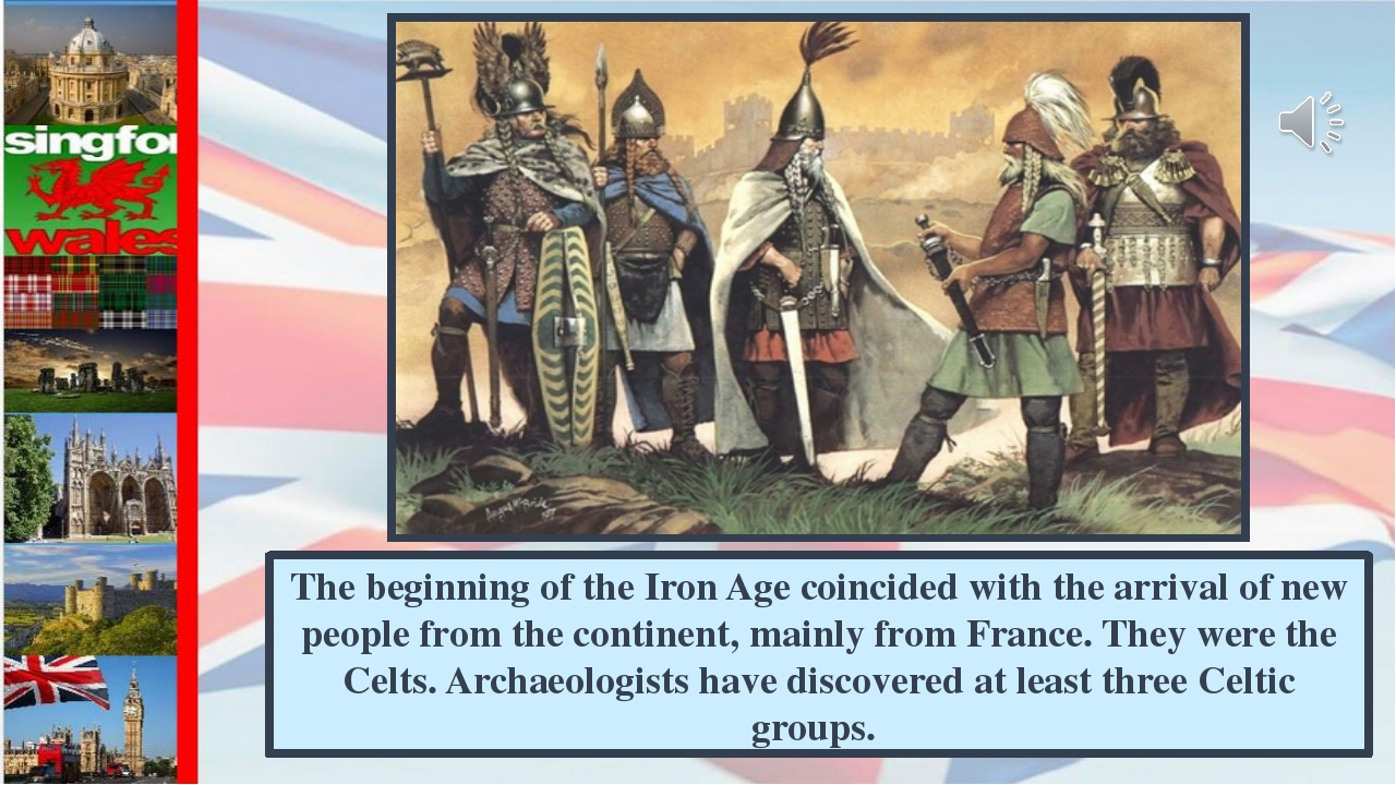 The beginning of the Iron Age coincided with the arrival of new people from t...