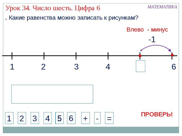 1 3 2 4 МАТЕМАТИКА 1 2 3 4 + - = . Какие равенства можно записать к рисункам?...