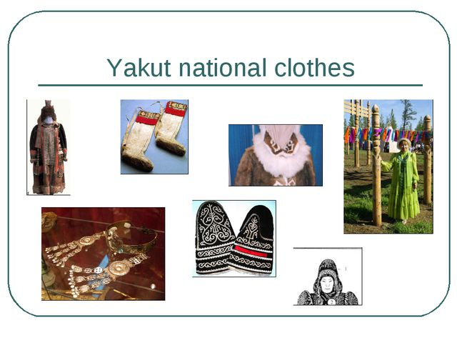 Yakut national clothes