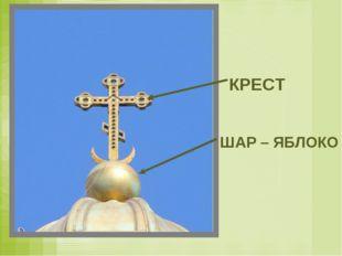 КРЕСТ ШАР – ЯБЛОКО