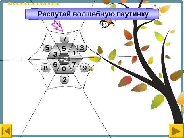+2 3 5 7 0 1 6 7 3 8 5 9 2 Волшебные паутинки