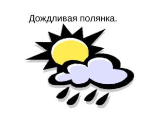 Дождливая полянка.