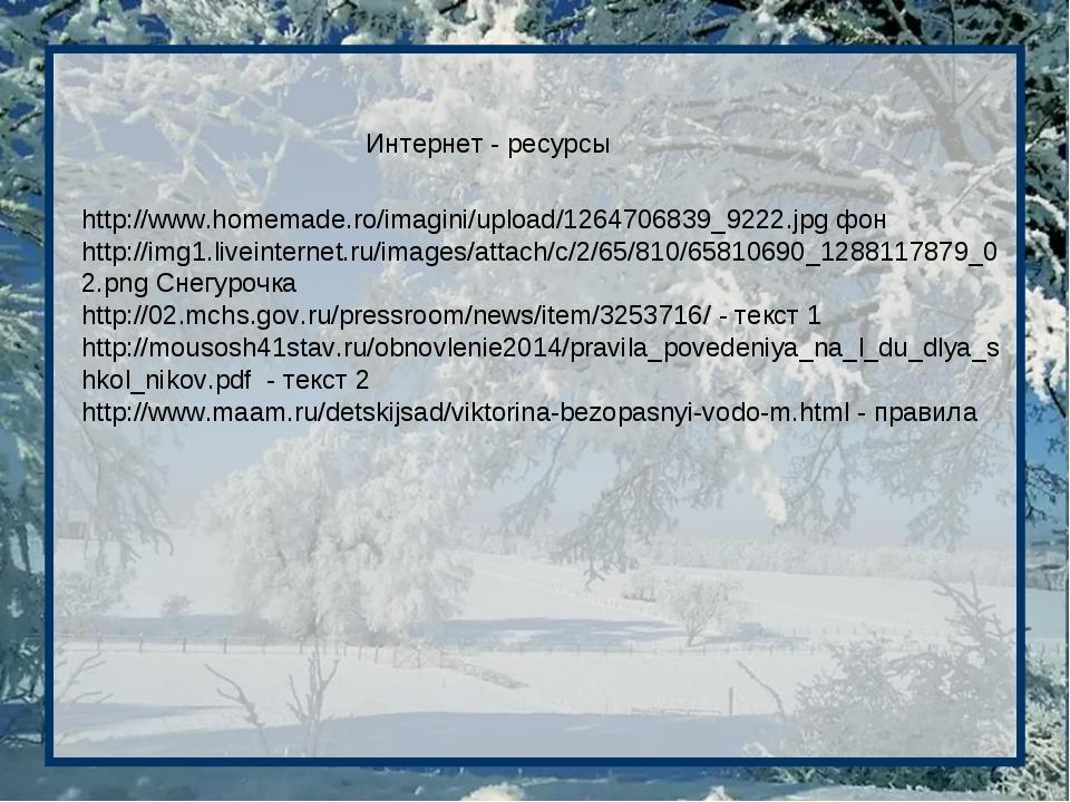 Интернет - ресурсы http://www.homemade.ro/imagini/upload/1264706839_9222.jpg...