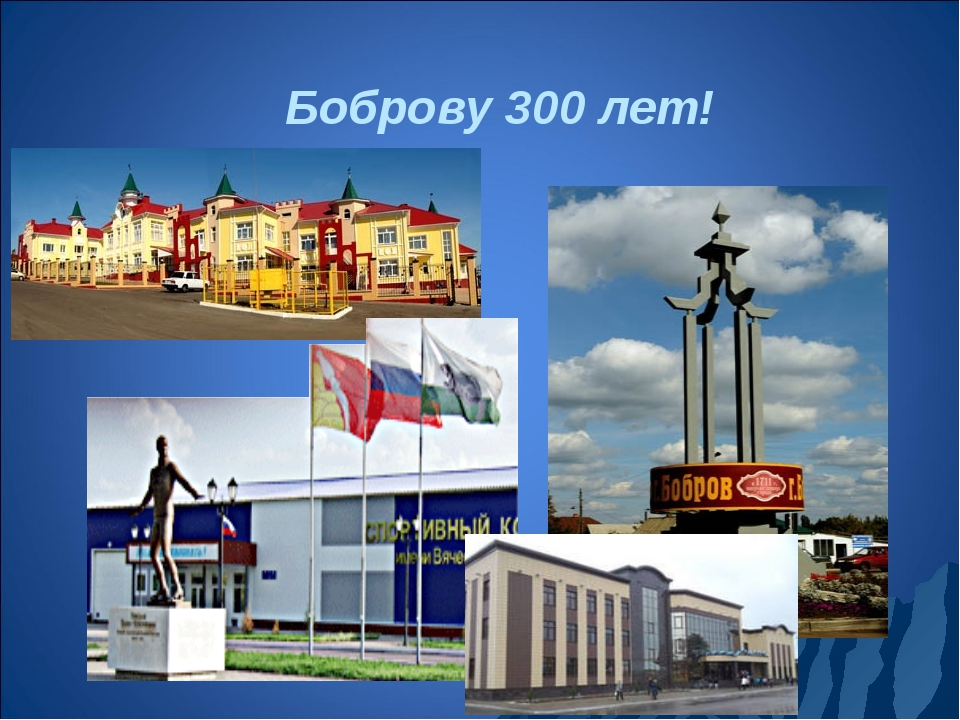 Боброву 300 лет!