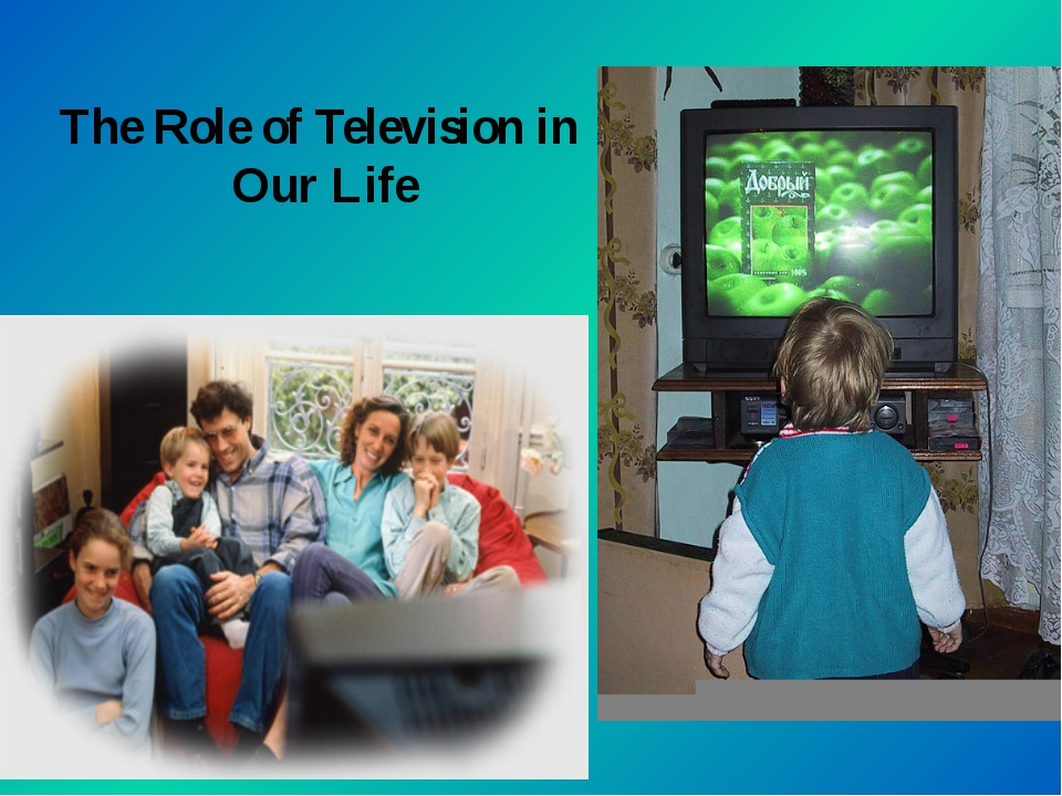 the rule of television in our lives